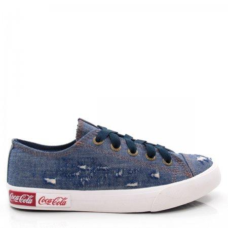 Tênis Feminino Casual Coca Cola Shoes CC1690 Blend Wear