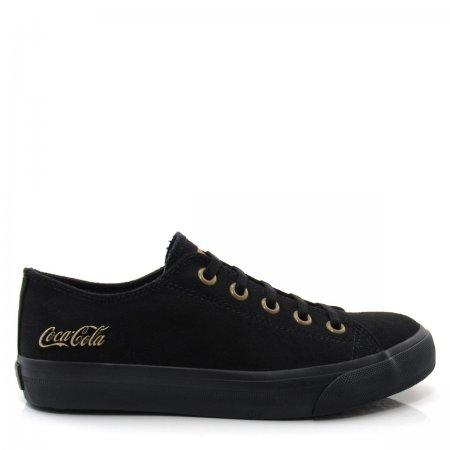 Tênis Feminino Casual Coca Cola Shoes CC1620 Basket Elastic
