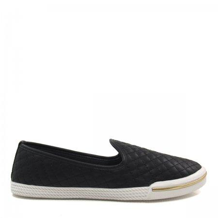 Tênis Slip On Feminino Olfer Shoes 001M Matelassê