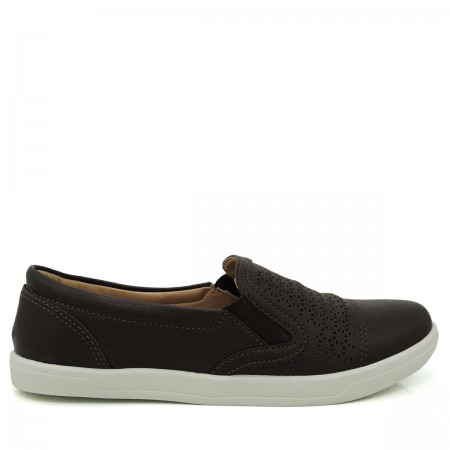 Tênis Slip On Feminino Via Euro Paris