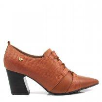 Imagem - Bota Ankle Boot Feminino Salto Grosso Verofatto 6013202 - 004665