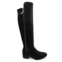 Imagem - Bota Over the Knee Feminina Via Marte 6302 salto baixo - 002991