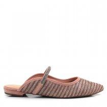 Imagem - Mule Feminino Bico Fino Olfer Shoes 18266-31 strass - 004652