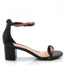 Imagem - Sandália Feminina Salto Grosso Uza Shoes A15b537c0038 - 004832