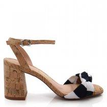 Imagem - Sandália Feminina Salto Grosso Uza Shoes A15b550a0004 - 004829