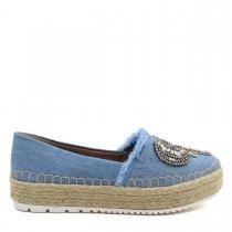 Imagem - Sapatilha Alpargata Feminina Olfer Shoes 3077 Elefante - 004615