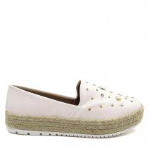 Imagem - Sapatilha Alpargata Feminina Olfer Shoes 3090 Pérola - 004616