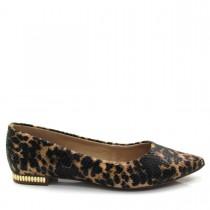 Sapatilha Feminina  Bico Fino Of Shoes 1516591