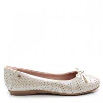 Imagem - Sapatilha Feminina Bico Redondo Olfer Shoes 1284-205 - 005008