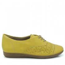 Imagem - Sapato Feminino Oxford ComfortFlex 1554302 Couro - 002434