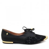 Sapato Feminino Oxford Siamanda 238-10738 Renda