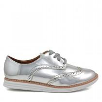 Imagem - Sapato Feminino Oxford Vizzano 1231101 Metalizado - 003020