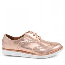 Imagem - Sapato Feminino Oxford Vizzano 1231101 Metalizado - 003186