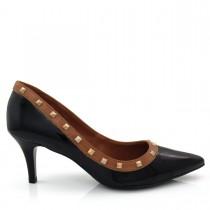 Sapato Feminino Scarpin Bico Fino Of Shoes 8666634