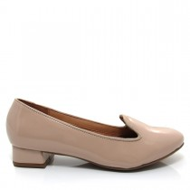 Imagem - Sapato Feminino Scarpin Slipper Vizzano Salto quadrado Verniz  - 003375