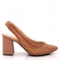 Imagem - Sapato Scarpin Feminino Salto Grosso Olfer Shoes 50086-0 - 004824
