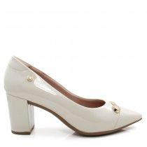 Imagem - Sapato Scarpin Salto Grosso Feminino Olfer Shoes 1280-108 - 005173