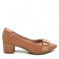 Imagem - Scarpin Bico Fino Feminino Salto Grosso Olfer Shoes 1238-020 - 004547