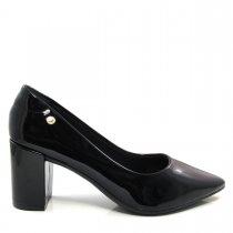 Imagem - Scarpin Bico Fino Feminino Salto Grosso Olfer Shoes 1240001 - 004548