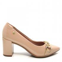 Imagem - Scarpin Bico Fino Feminino Salto Grosso Olfer Shoes 1240007 - 004549