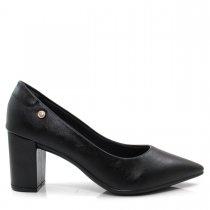 Imagem - Scarpin Bico Fino Feminino Salto Grosso Olfer Shoes 1280-001 - 004738