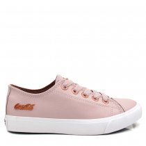 Tênis Casual Coca Cola Shoes Feminino Atlanta Leather CC1754
