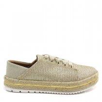 Imagem - Tênis Casual Feminino Olfer Shoes 3022 Corda - 004621