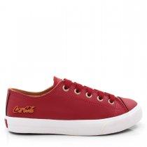 Imagem - Tênis Feminino Casual Coca Cola Shoes CC0887 Basket Low - 004975
