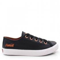 Imagem - Tênis Feminino Casual Coca Cola Shoes CC0887 Basket Low - 004974