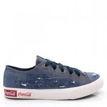 Imagem - Tênis Feminino Casual Coca Cola Shoes CC1690 Blend Wear  - 004979