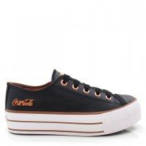Imagem - Tênis Feminino Flatform Coca Cola Shoes CC1550 Basket - 004977
