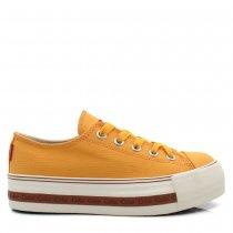 Imagem - Tênis Flatform Coca Cola Shoes Feminino Atlanta CC1733 Lona - 005183