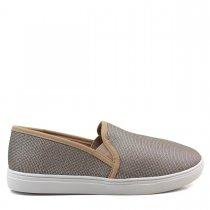 Imagem - Tênis Slip On Feminino Olfer Shoes 13670-01 Sem Cadarço - 004648