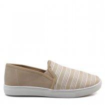 Imagem - Tênis Slip On Feminino Olfer Shoes 13670-01 Sem Cadarço - 004649