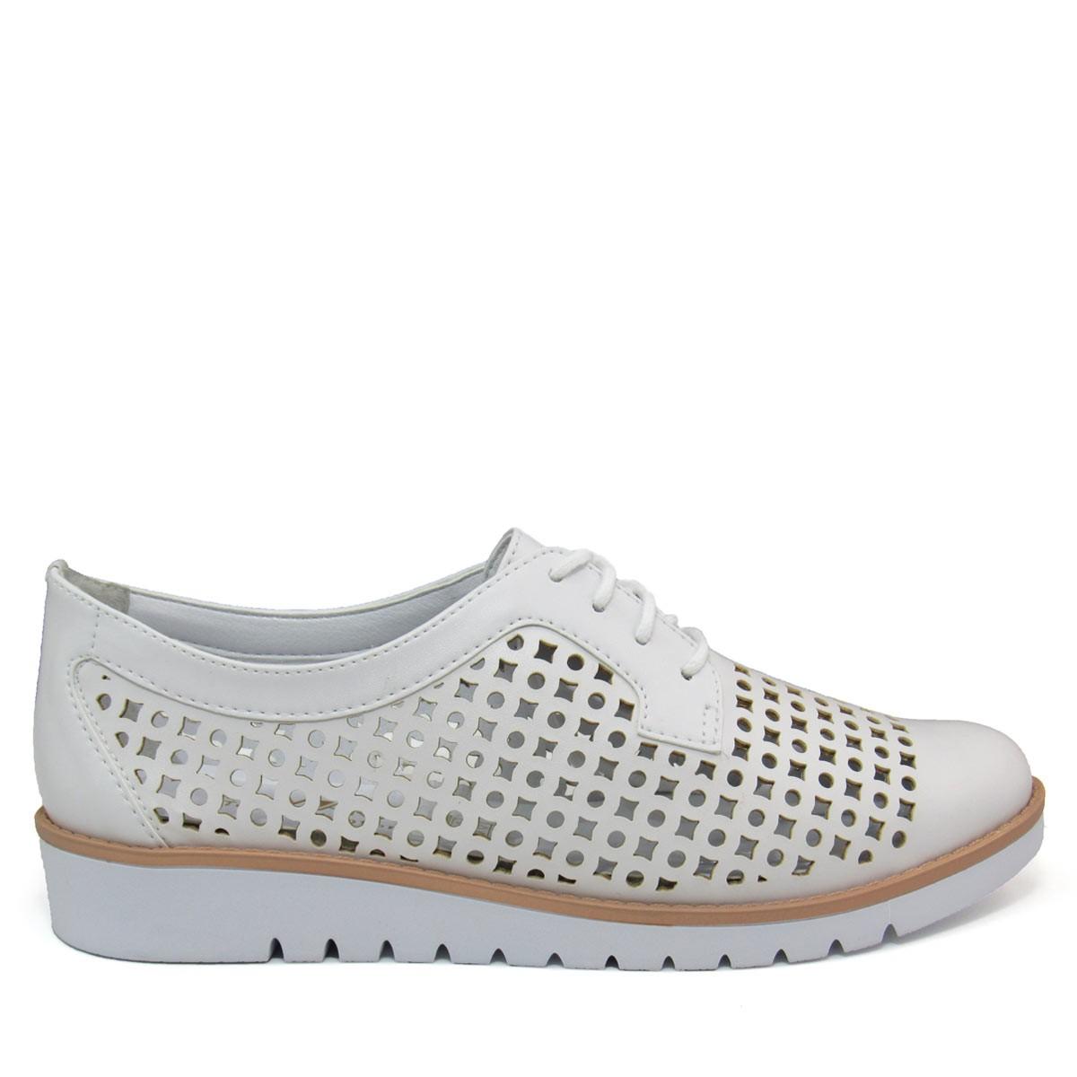 bb6ae9ada6 Sapato Feminino Oxford Ramarim Total Comfort 1690201 Coleção 2018
