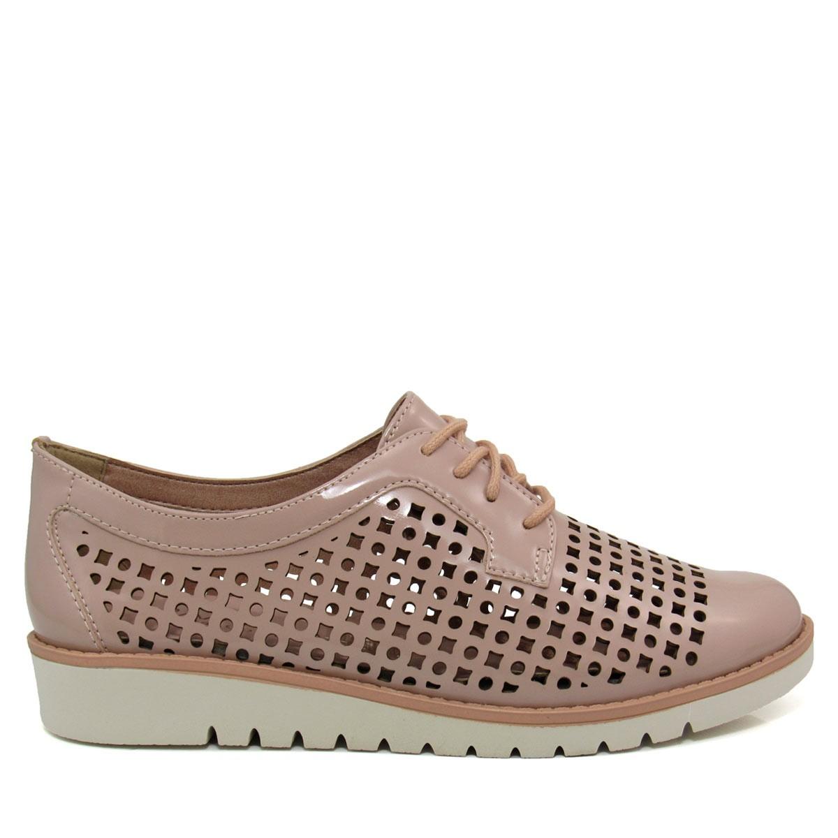 495b2b1a14 Sapato Feminino Oxford Ramarim Total Comfort 1690201 Coleção 2018