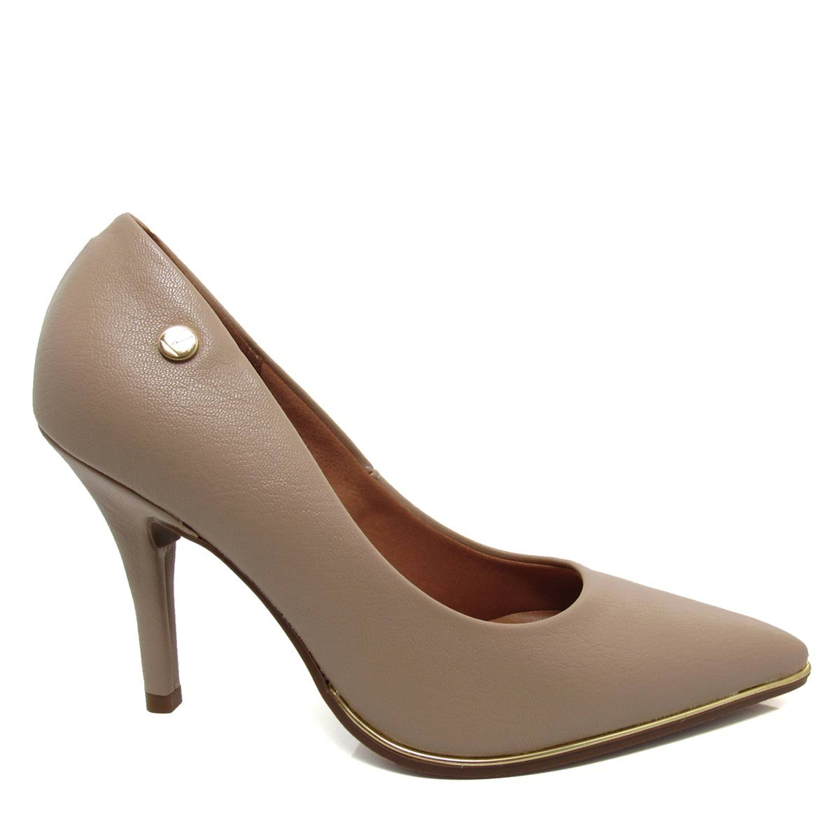 404380d5ef Sapato Scarpin Feminino Vizzano Bico fino 1267100 Coleção 2018