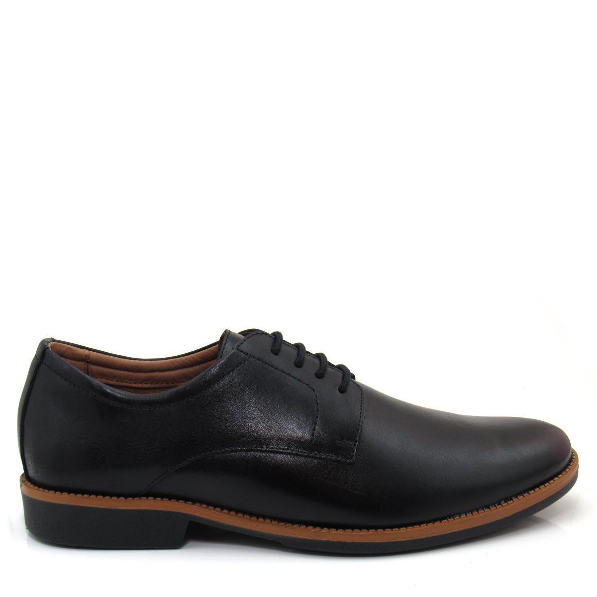 b46bd2285e Sapato Causal Masculino Tonifran 201 em Couro Coleção 2018