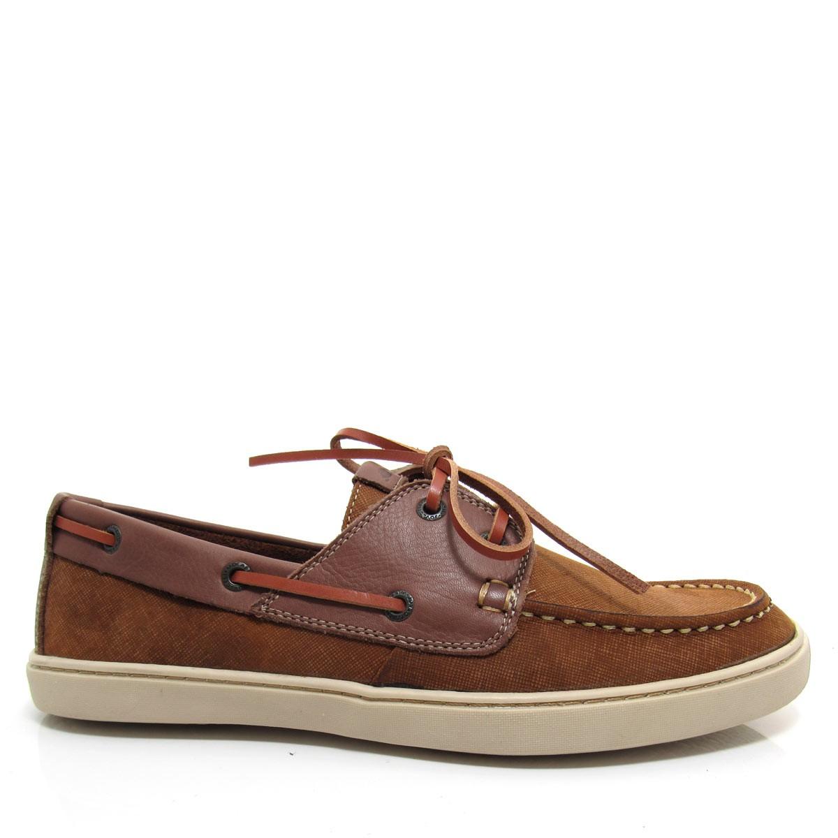 4675cc5028 Sapato DockSide Masculino Jovaceli em couro 1100 Coleção 2018