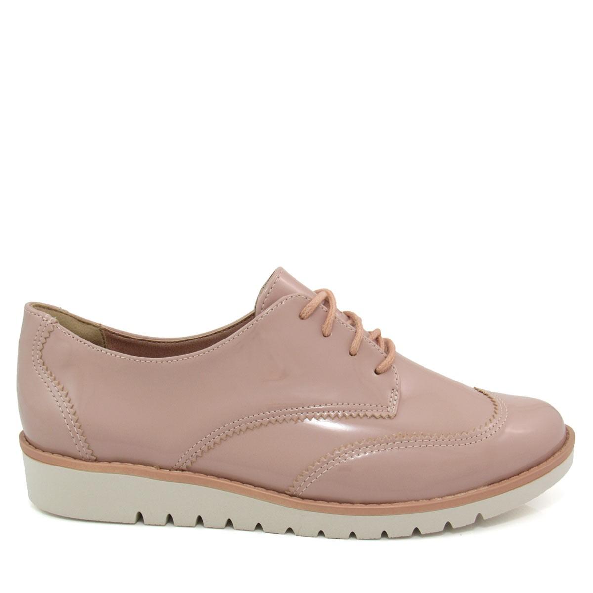 f200c3cd52 Sapato Feminino Oxford Ramarim Total Comfort 1690202 Coleção 2018