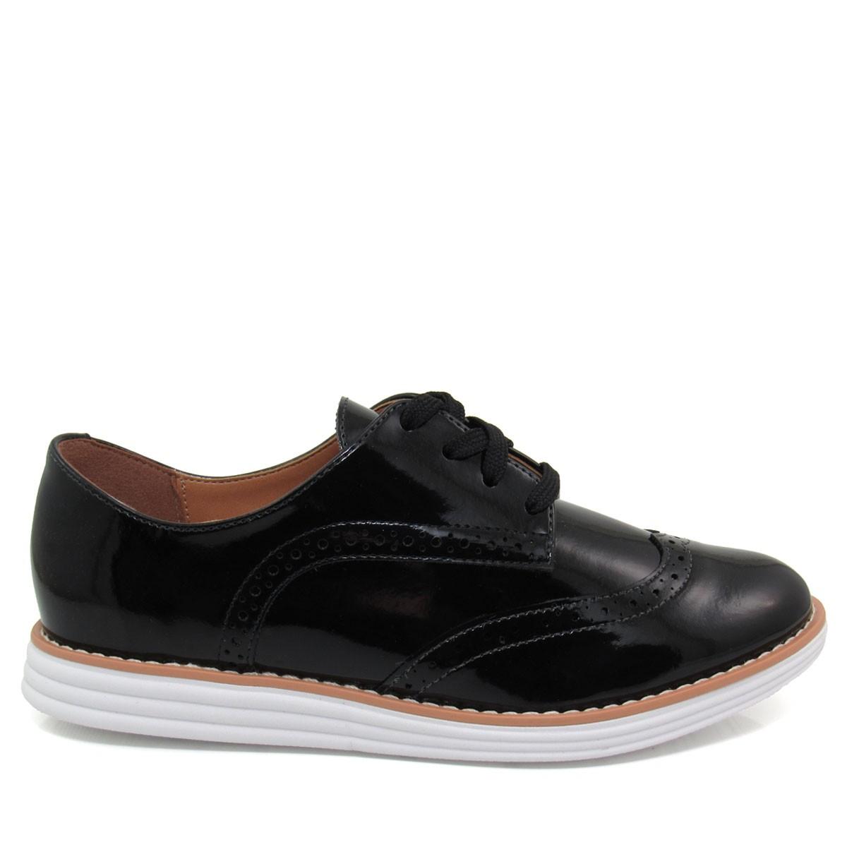 49da3eef54 Sapato Feminino Oxford Vizzano 1231101 Coleção 2018