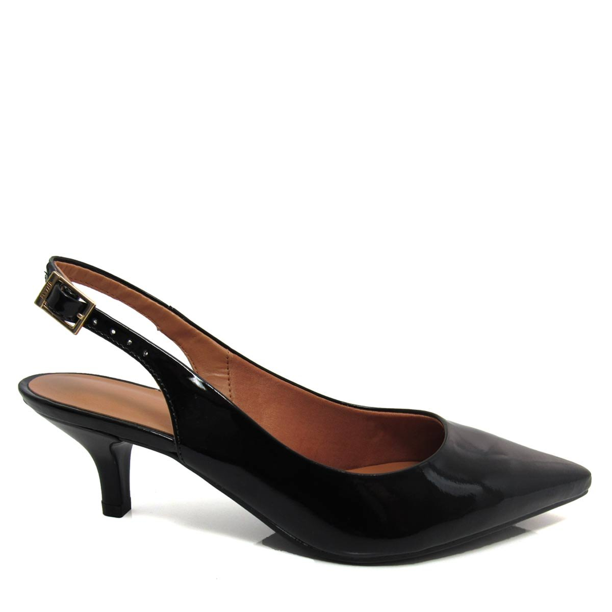 e42d1c0f12 Sapato Scarpin Chanel Feminino Vizzano Bico fino 1122606 Coleção 2018