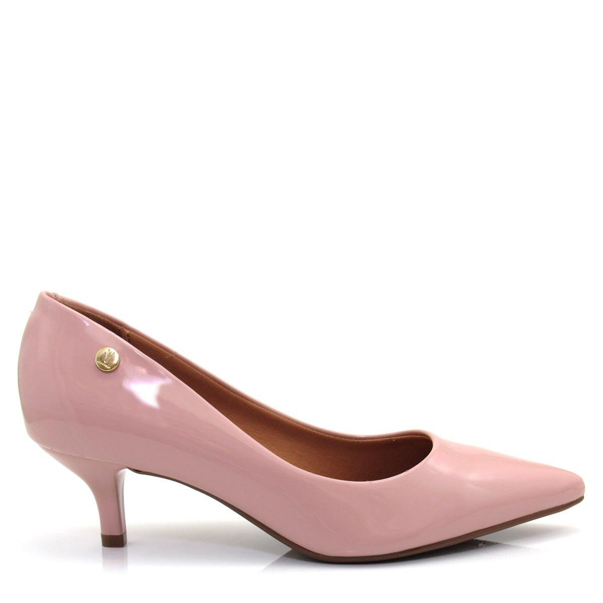 035ddd28d Sapato Scarpin Feminino Vizzano Bico fino 1122628 Salto Baixo Coleção 2018