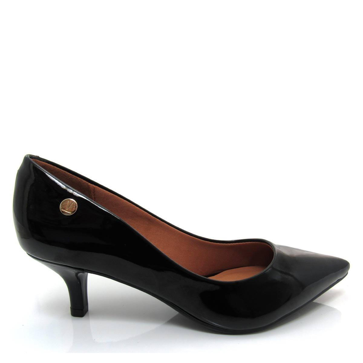 fd5c3d29a0 Sapato Scarpin Feminino Vizzano Bico fino 1122628 Salto Baixo Coleção 2018