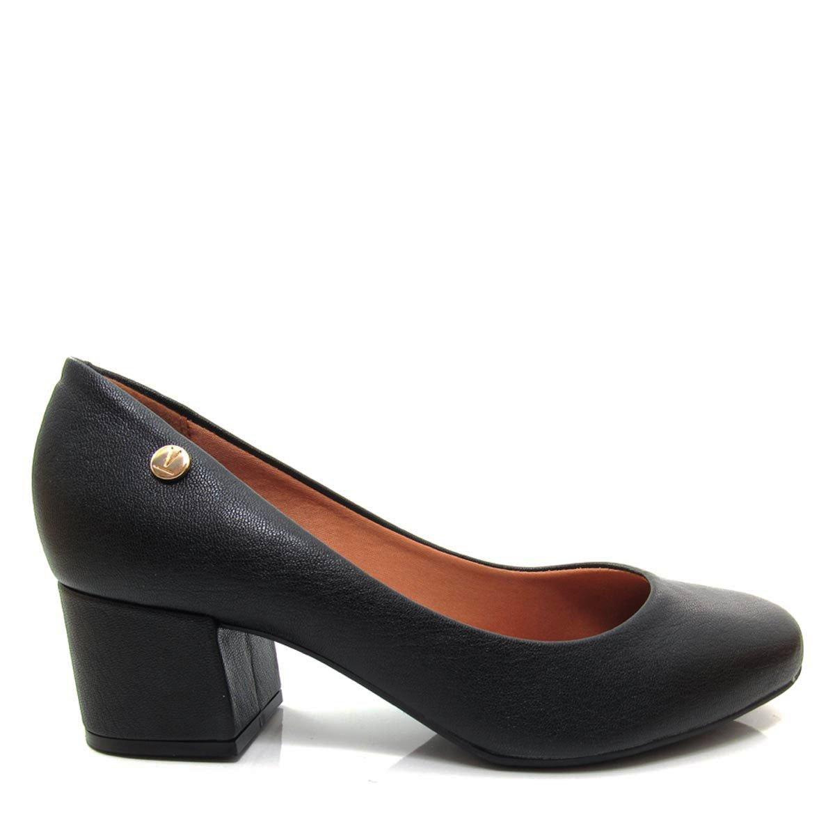 a481b0922d Sapato Scarpin Feminino Vizzano Bico Redondo 1258100 Coleção 2018