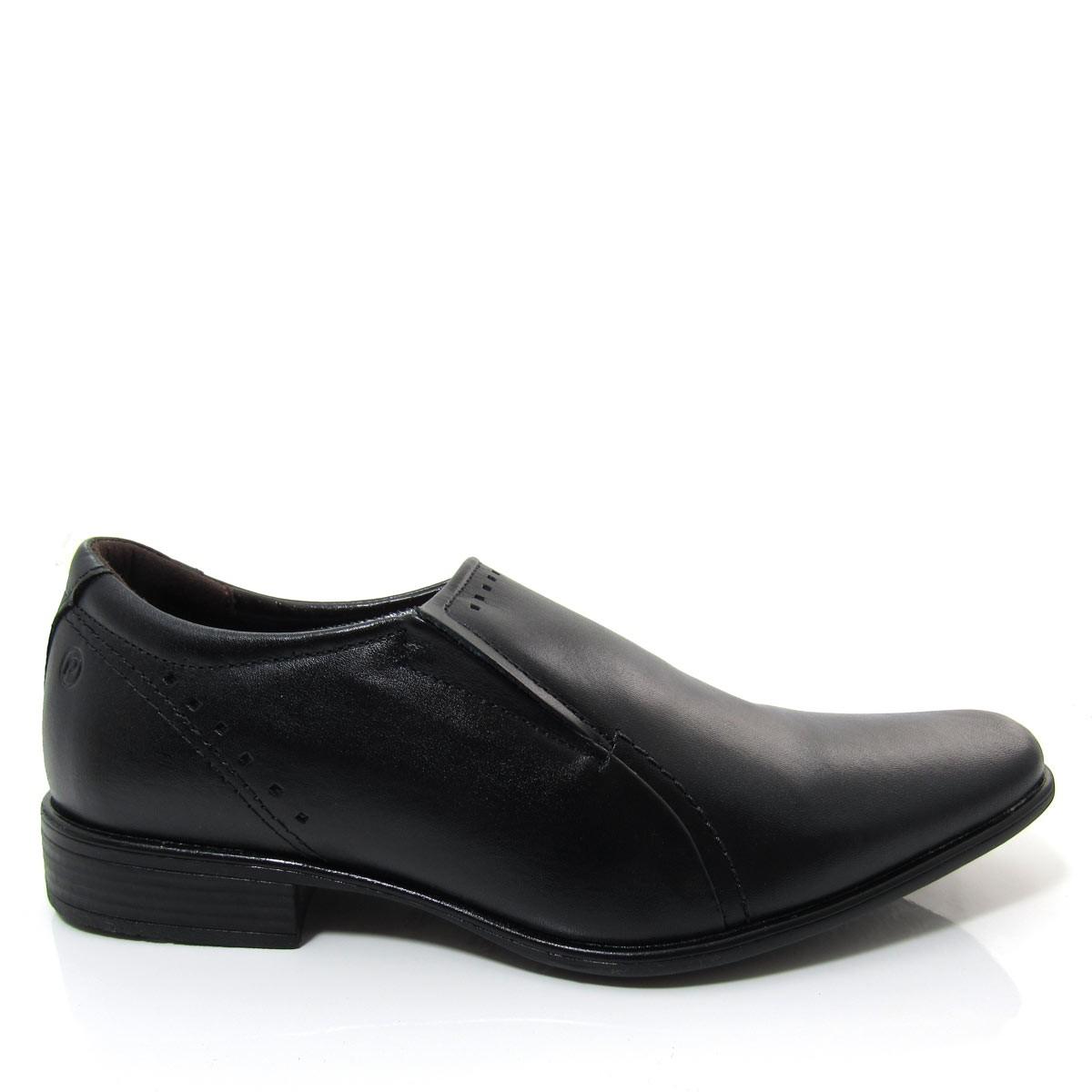 bc4d14adc Sapato Social Masculino Pegada 22060 sem Cadarço em Couro Coleção 2018