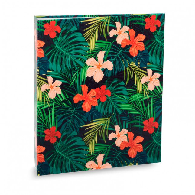 Álbum para 40 fotos 15x21cm - Floral 304