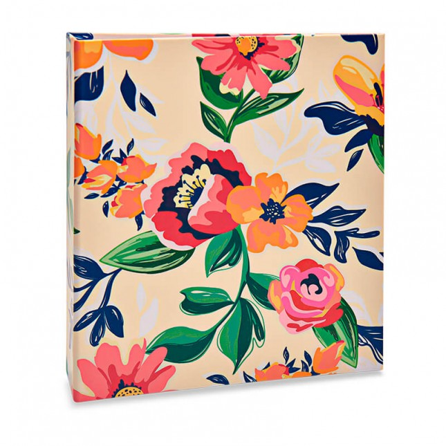 Álbum para 80 fotos 15x21cm - Floral 314