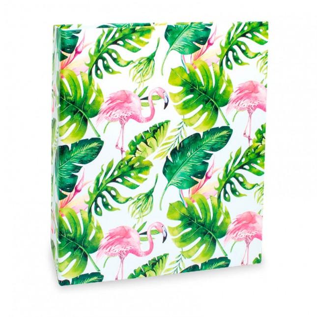 Álbum para 200 fotos 10x15cm - Floral 315 - Ampliável