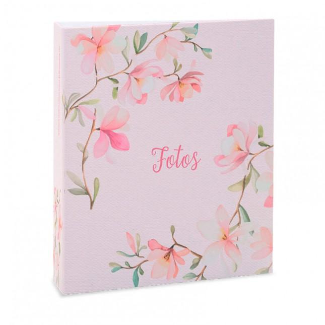 Álbum para 300 fotos 10x15cm - Floral 318 - Ampliável